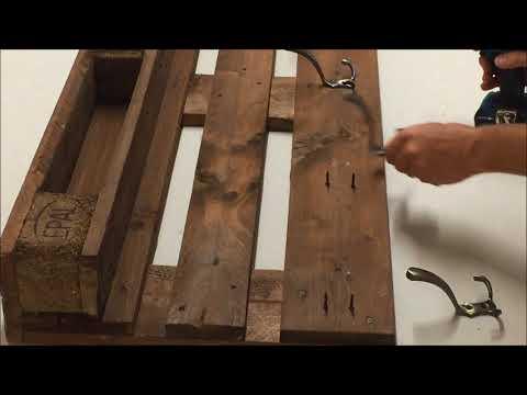 DIY Wandhaken auf Garderobe montieren - Heimwerken -