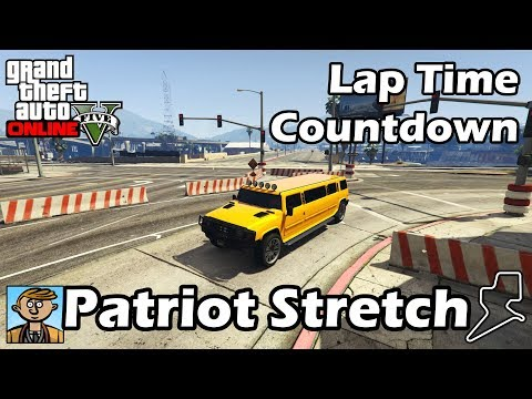 Fastest SUVs (Patriot Stretch) - GTA 5 Best Fully Upgraded Cars Lap Time Countdown