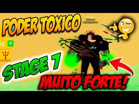 ROBLOX Lifting Simulator  PEGANDO STAGE 7 Com o Poder Txico   MUITA FORA