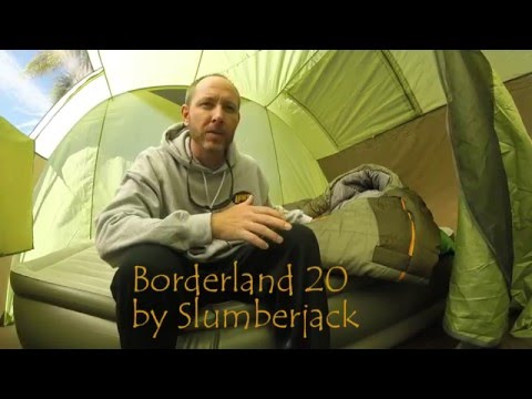 Product Review: Slumberjack Borderland sleeping bag