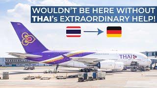 TRIPREPORT | Thai Airways (ECONOMY) | Airbus A380 | Bangkok   Frankfurt