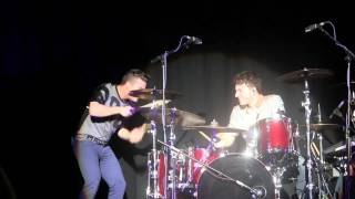 Joe McElderry - Ambitions - Until The Stars Run Out & Joe on drums - Torquay