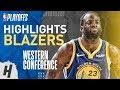 Draymond Green Full Series Highlights Vs Trail Blazers   2019 NBA Playoffs WCF