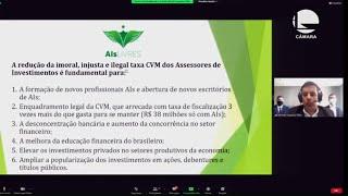 FINANÇAS E TRIBUTAÇÃO - A atuação dos Agentes Autônomos de Investimento no mercado de capitais - 18/06/2021 09:00