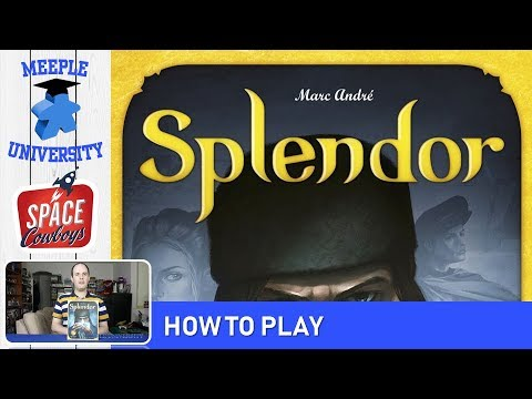 Splendor Board Game - How to Play & Setup in 6 minutes