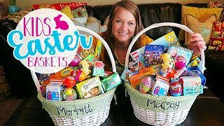 Whats In My Kids Easter Basket 2019 | Boys Easter Baskets