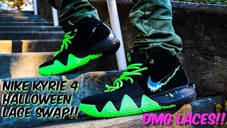 on sale a8498 08b30 LACE SWAP - KYRIE 4 MAMBA MENTALITY - FUELED BY DMG LACES ...