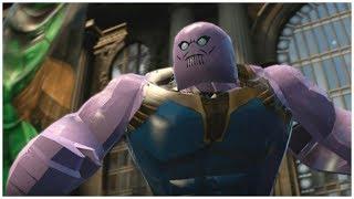 Thanos (Infinity War) vs Hulk (Infinity War) - LEGO Marvel Superheroes Cutscene + Gameplay and Mods