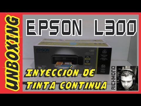Unboxing: Epson L300 | Impresora de inyección de tinta continua