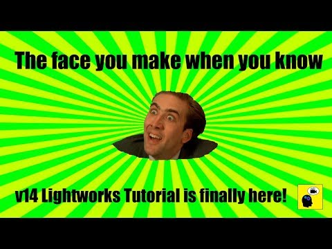 v14 Lightworks Overview | Basic Tutorial