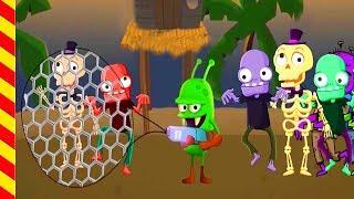 Зомби напали на людей - мультфильм для мальчиков 5 лет. Добро против зла игровой мультик
