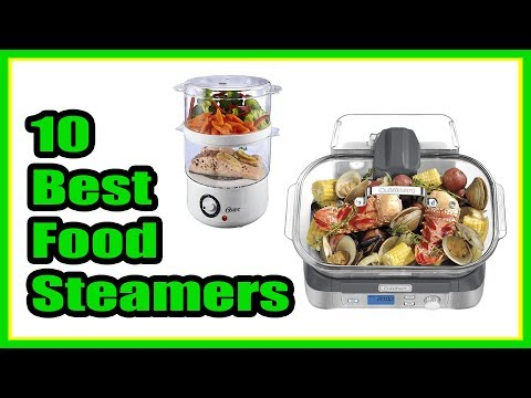 , Ovente 3-Tier Electric Steamer for Vegetables and Food with Timer, 7.5-Quart, 400-Watts, Auto Shut-Off Feature, White (FS53W)