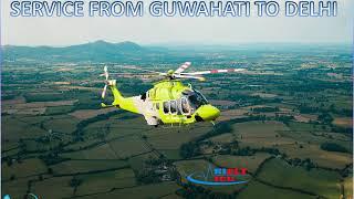 Book Minimal-Fare Air Ambulance Service from Guwahati to Delhi by Hifly ICU