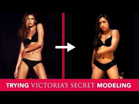 I Tried Modeling Like A Victoria's Secret Angel 💞