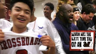 Yuuki Okubo STEALS GAME With SHAQ WATCHING! Crowd STORMS COURT! RIVALRY GAME Crossroads vs Brentwood