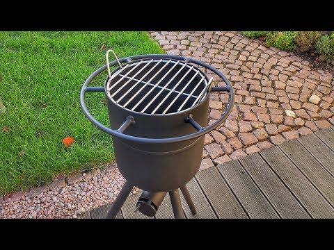 2 in 1 🔥 Feuertonne und Grill selber bauen - DIY