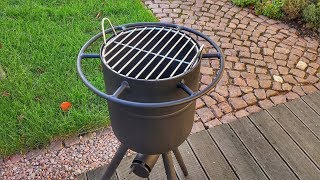 🔥 Terrassenofen aus Gasflasche selber bauen - Outdoor Ofen ...