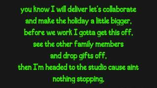 Justin Bieber ft Busta Rhymes - Drummer Boy (Lyrics on Screen)