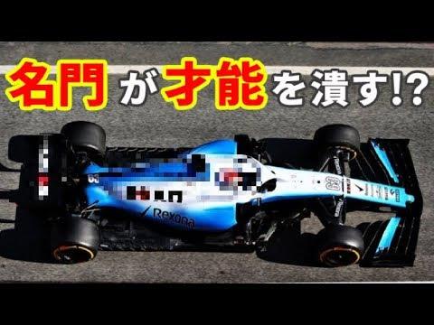 【F1 2019年】名門マクラーレンとウィリアムズが才能あるドライバーを〇〇!