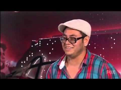 Andrew Garcia American Idol Audition - Sunday Morning