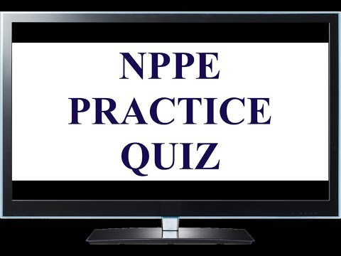 NPPE Exam Sample Questions & Answers - YouTube