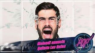 Melendi anuncia Quitate Las Gafas, su 8º album