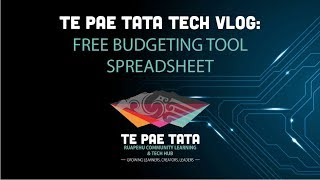 TPT Tech Vlog - Free Budgeting Tool Spreadsheet
