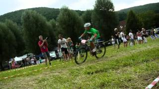 preview picture of video 'UEC European Youth Mountainbike Championships Graz/Stattegg Team Time Trial 11.8.2014'