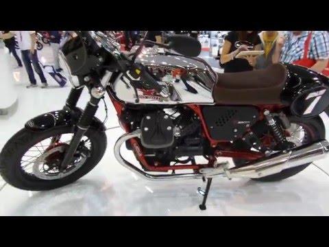 Moto Guzzi V7 II: Salón Intermot Colonia