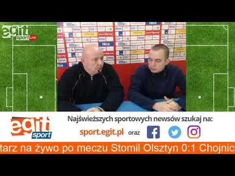 Komentarze po meczu Stomil - Chojniczanka Chojnice
