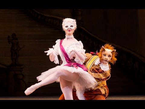 The Sleeping Beauty – White Cat and Puss-in-Boots pas de deux (The Royal Ballet)