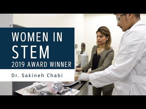 Advance at UNM 2019 Women in STEM Awards: Dr. Sakineh Chabi