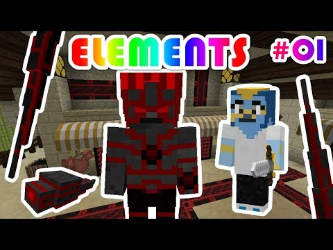 THE MALWARE FUSION!!! | Malware Mission pt.1 | KAGIC Minecraft Mod Roleplay Series | ELEMENTS [1]