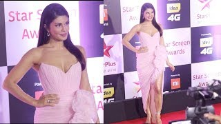 Salman Khan Girlfriend Jacqueline Fernandez At Star Screen Awards 2018