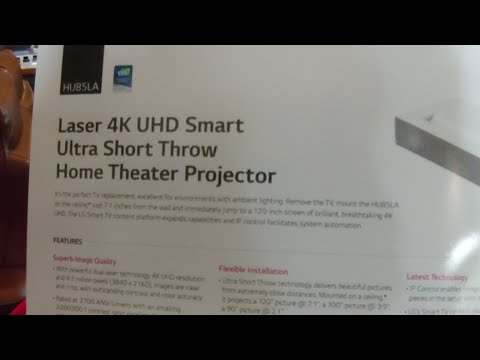 External Review Video omK5h9c69Zs for LG CineBeam 4K UHD Projectors (HU85LA Laser & HU70LA LED)
