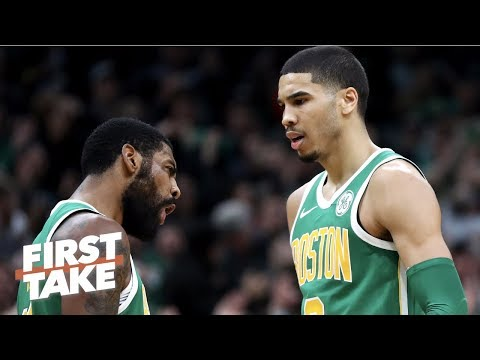 Jayson Tatum not Kyrie Irving will drive the Celtics' NBA playoff run - Stephen A.   First Take