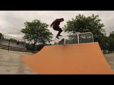 Hamilton Skatepark Montage (Veteran's Park)