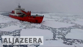 What's changing the Antarctic sea ice conditions?