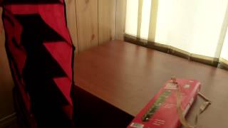 Подвесной органайзер для хранения одежды на 10 полок