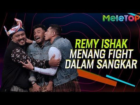 LAWAK! Remy Ishak menang FIGHT dalam Sangkar | MeleTOP | Nabil & Neelofa