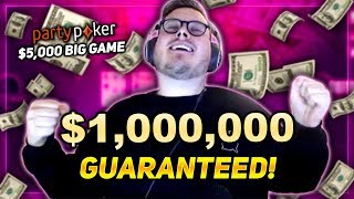 BATTLING IN A $5,000 POKER TOURNAMENT!!! PokerStaples Stream Highlights