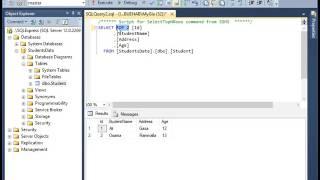 شرح بالعربي(SQL Server 2014  Tutorial   How to Select rows and use where)