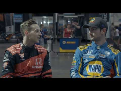 Adam Rippon and Alexander Rossi Interview