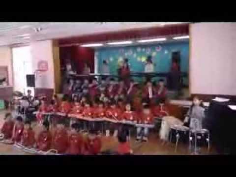 富良野みどり幼稚園 合奏 第9番 「歓喜の歌」 ピアノジャッ