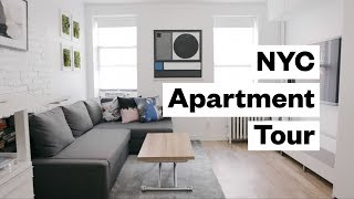 Apartment Tour! 300 sq. foot studio in NYC