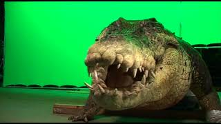 Creating the mechanical crocodile for 'Rogue'