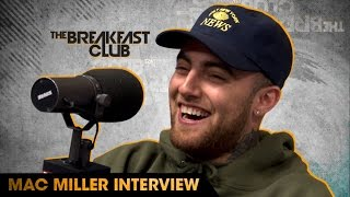 Mac Miller Interview With The Breakfast Club (9-22-16)
