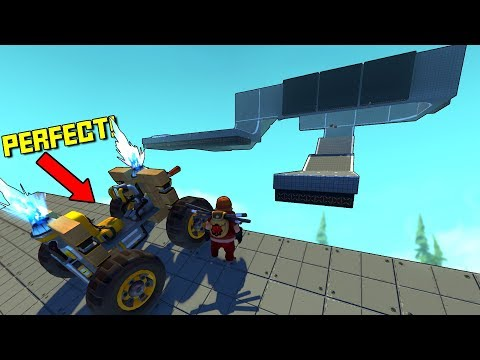 100% Perfect Car For This Challenge No Issues Here... - Scrap Mechanic Challenge Mode