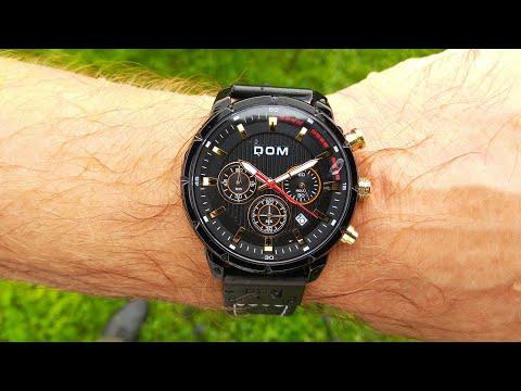 Мужские кварцевые наручные часы DOM / DOM men's quartz wristwatch