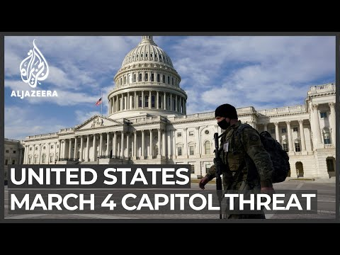 US warns of 'possible' plan to seize US Capitol on March 4